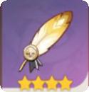 《原神》圣遗物死之羽-教官的羽饰
