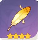 《原神》圣遗物死之羽-旅人的羽饰